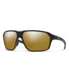 Smith Pathway Sunglasses-Eyewear-Smith Optics-Matte Black || ChromaPop Polarized Bronze Mirror-Voltaire Cycles of Highlands Ranch Colorado