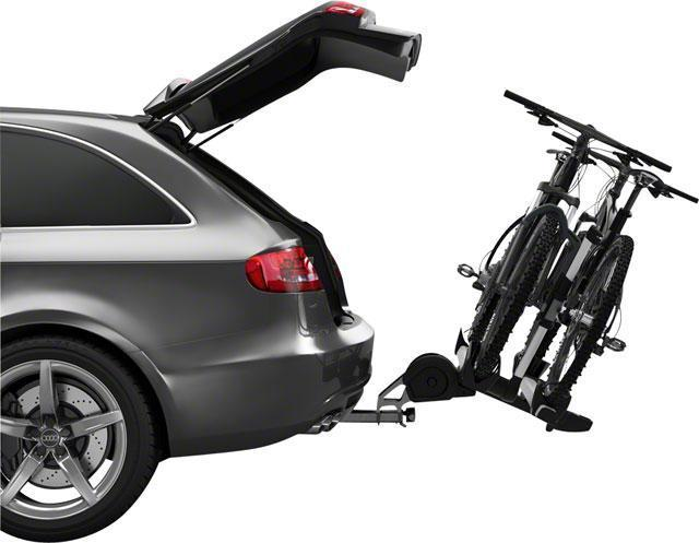 "Thule 9035 T2 Pro 1.25"" Receiver Hitch Rack: 2 Bike-Bicycle Automobile Carriers-Thule-Voltaire Cycles of Highlands Ranch Colorado"