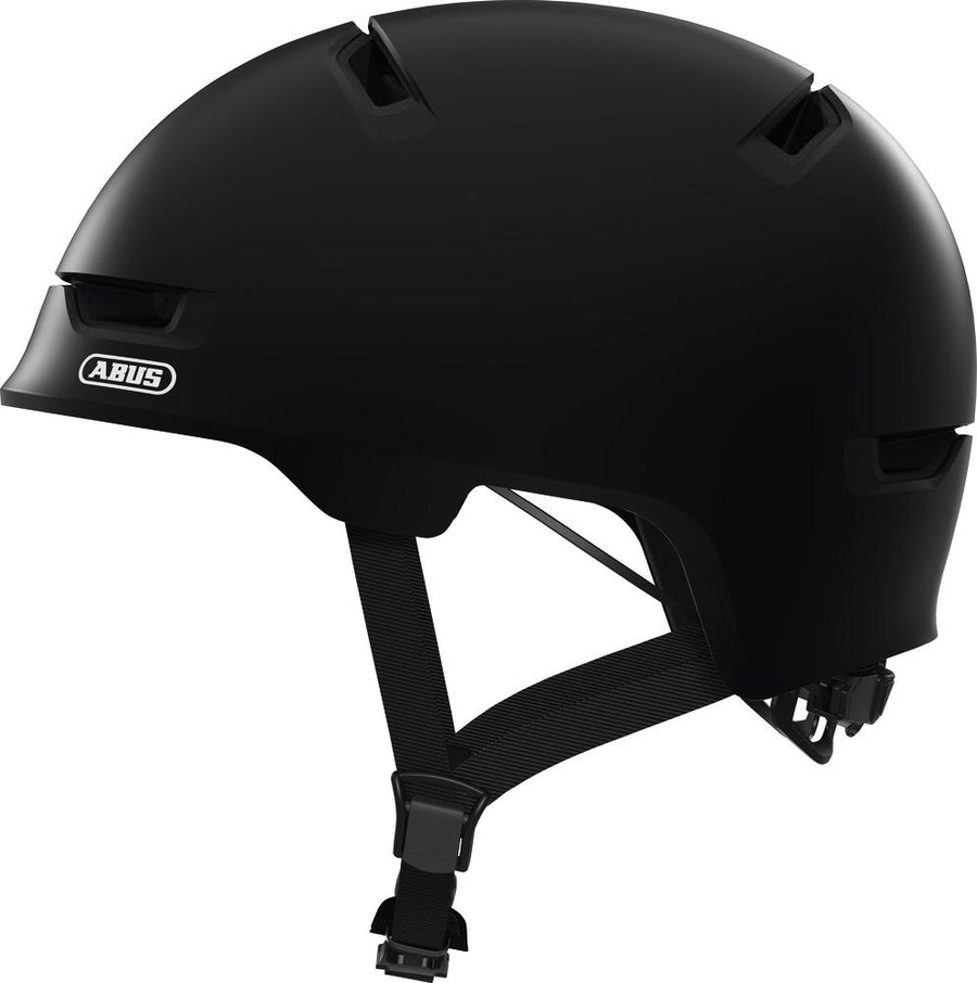 ABUS Scraper 3.0 Helmet-Helmets-Abus-Medium 54-58 cm-Velvet Black-Voltaire Cycles of Highlands Ranch Colorado