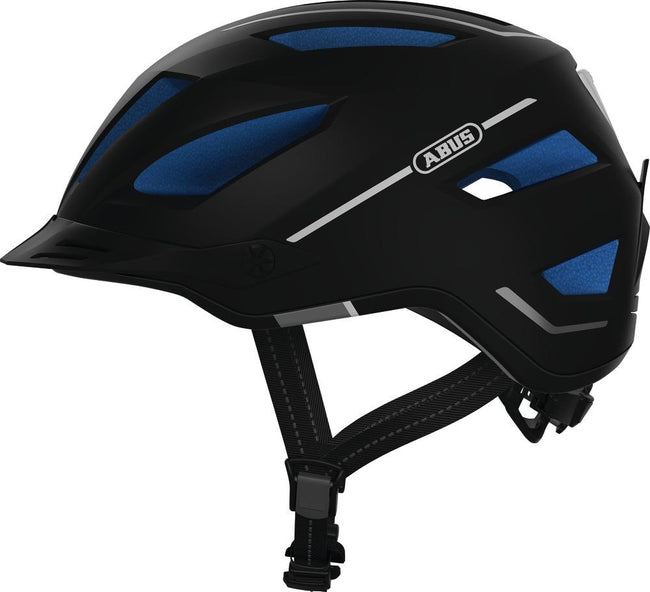 Abus Pedelec 2.0 E-Bike Helmet-Helmets-Abus-Medium (52-57cm)-Midnight Blue-Voltaire Cycles of Highlands Ranch Colorado