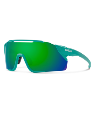 Smith Attack MAG MTB Sunglasses-Smith Optics-Matte Jade || ChromaPop Green Mirror-Voltaire Cycles of Highlands Ranch Colorado