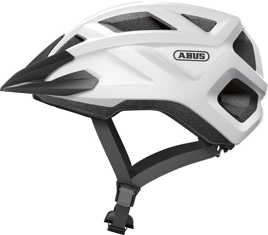 Abus MountZ Helmet-Voltaire Cycles of CO-Small (48-52cm)-Polar White-Voltaire Cycles of Highlands Ranch Colorado
