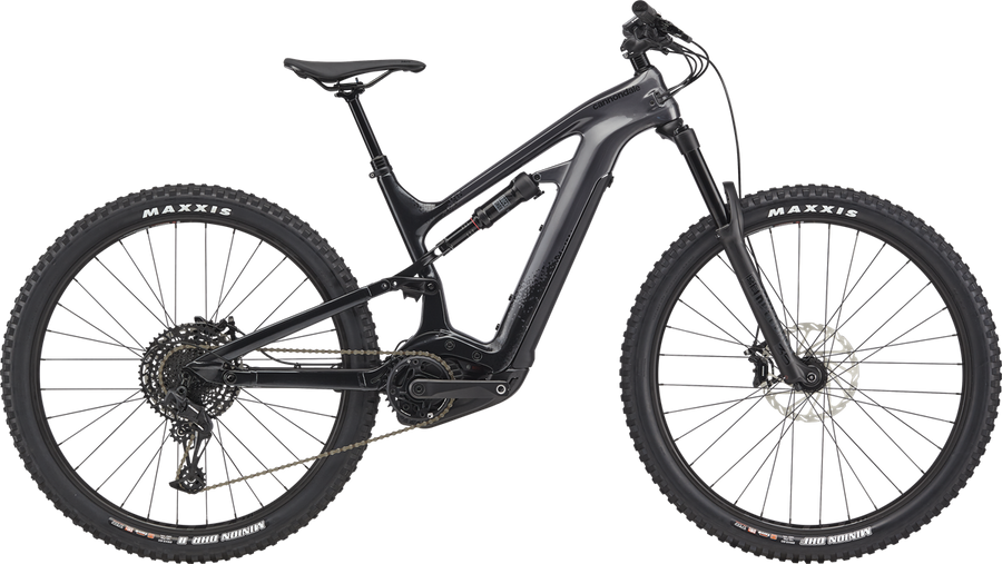 Cannondale Moterra NEO 3-Electric Bicycle-Cannondale-Matte Black Small 27.5-Voltaire Cycles of Highlands Ranch Colorado