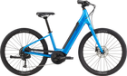 Cannondale Adventure Neo 4 Electric Bike-Electric Bicycle-Cannondale-Blue Small-Voltaire Cycles of Highlands Ranch Colorado