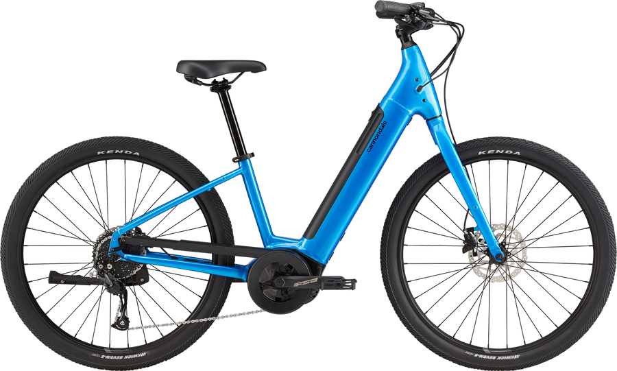 Cannondale Adventure Neo 4 Electric Bike-Electric Bicycle-Cannondale-Voltaire Cycles of Highlands Ranch Colorado