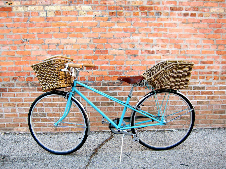 Nantucket Cisco Dutch Front Basket, with Hooks-Bicycle Baskets-Nantucket Bike Basket Co-Voltaire Cycles of Highlands Ranch Colorado