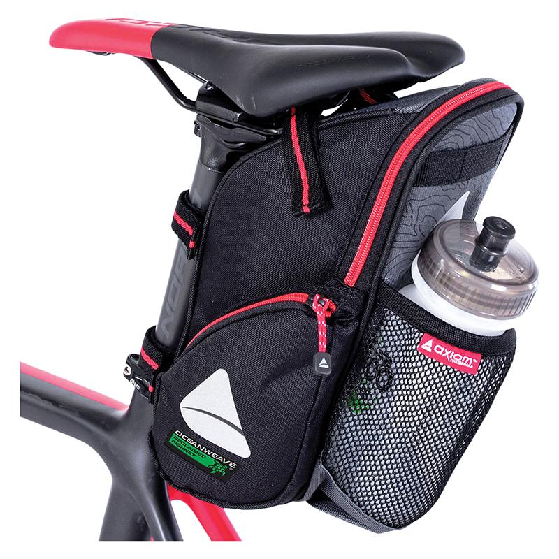 Axiom Seymour Oceanweave H2O Bicycle Seat Wedge Bag-Bicycle Seat Bags-Axiom-Voltaire Cycles of Highlands Ranch Colorado