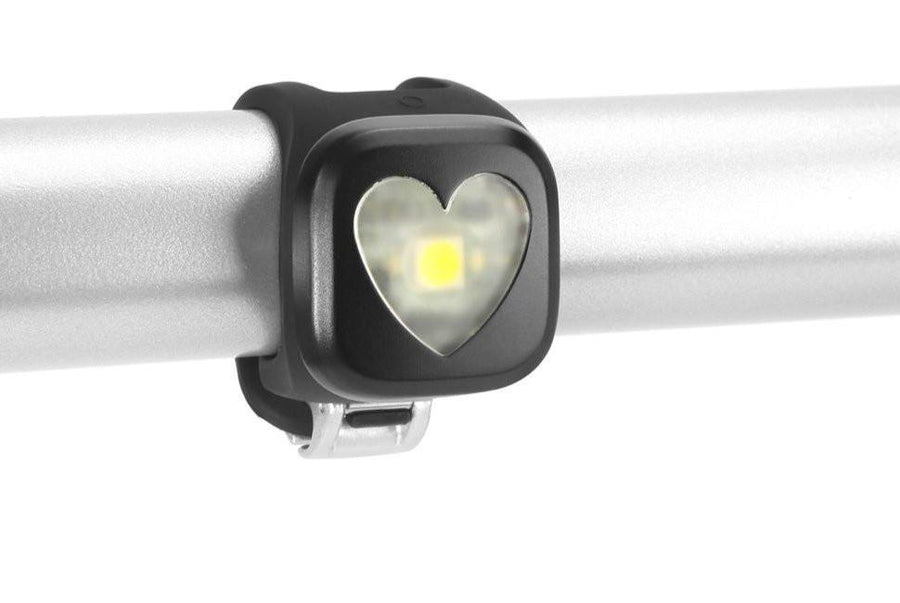 Knog Blinder 1 Rechargeable Rear Light-Bicycle Lights-KNOG-Black Heart-Voltaire Cycles of Highlands Ranch Colorado