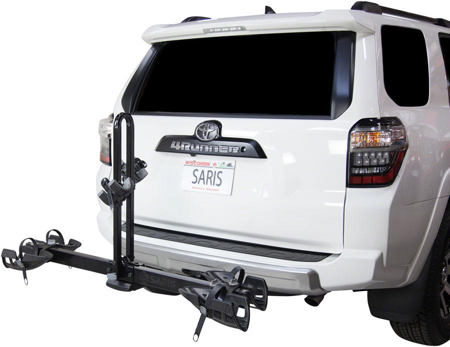 Saris Freedom EX Hitch Rack: 2 Bike, Universal Hitch-Bicycle Automobile Carriers-Saris-Voltaire Cycles of Highlands Ranch Colorado