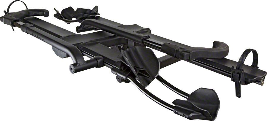 "Kuat NV 2.0 Base 2-Bike Tray Hitch Rack: Sandy Black, 1 1/4"" Receiver-Bicycle Automobile Carriers-Kuat-Voltaire Cycles of Highlands Ranch Colorado"