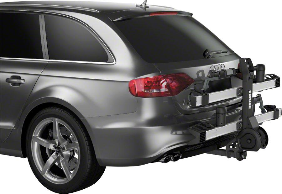 "Thule 9034XTS T2 Pro XT 2"" Hitch Rack: 2-Bike-Bicycle Automobile Carriers-Thule-Voltaire Cycles of Highlands Ranch Colorado"