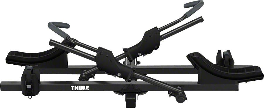 "Thule 9044 T2 Classic 2"" Receiver Hitch Rack: 2 Bike-Bicycle Automobile Carriers-Thule-Voltaire Cycles of Highlands Ranch Colorado"