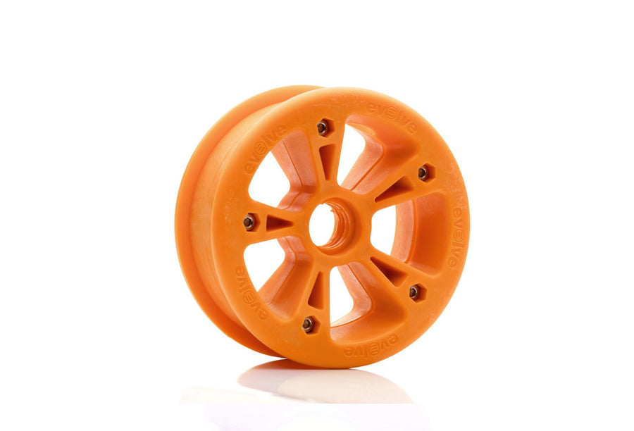 Evolve Hub - All Terrain-Electric Skateboard Parts-EVOLVE-Orange-Voltaire Cycles of Highlands Ranch Colorado