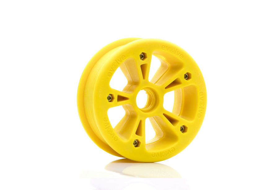 Evolve Hub - All Terrain-Electric Skateboard Parts-EVOLVE-Yellow-Voltaire Cycles of Highlands Ranch Colorado