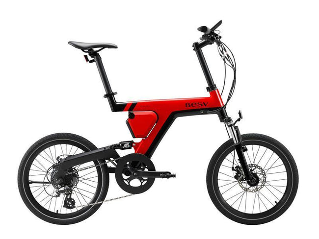 BESV PSA1 Electric Bicycle-Electric Bicycle-BESV-Red-Voltaire Cycles of Highlands Ranch Colorado