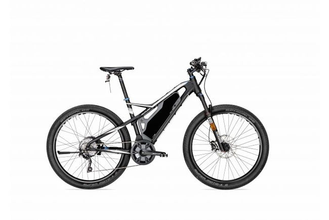 Bulls Outlaw E45-Electric Bicycle-Bulls-51 CM-White/Black/Blue-Voltaire Cycles of Highlands Ranch Colorado