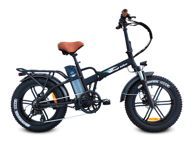 Bagi Bike B20 Fat Tire-Electric Bicycle-Bagi Bike-Black-Voltaire Cycles of Highlands Ranch Colorado