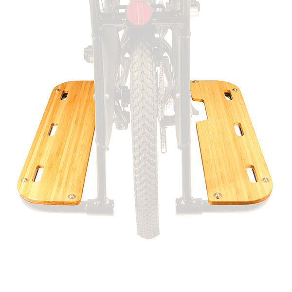 Boda Boda Bamboo Running Boards-Bicycle Accessories-Yuba-Voltaire Cycles of Highlands Ranch Colorado