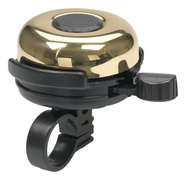 Mirrycle Incredible Bicycle Bell Big Brass-Bicycle Bells-Mirrycle-Brass-Voltaire Cycles of Highlands Ranch Colorado