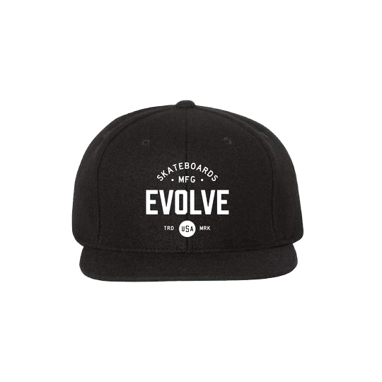 Evolove Classic Snapback- Cotton Hat-Apparel-EVOLVE-Voltaire Cycles of Highlands Ranch Colorado