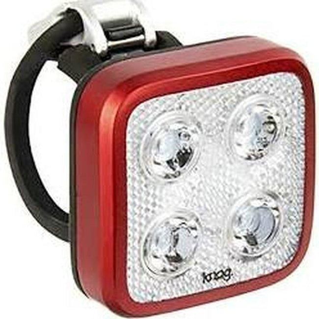 Blinder MOB - Rear Bicycle Light USB Rechargeable by KNOG - Red/White - 4 eyes-Bicycle Lights-KNOG-Voltaire Cycles of Highlands Ranch Colorado