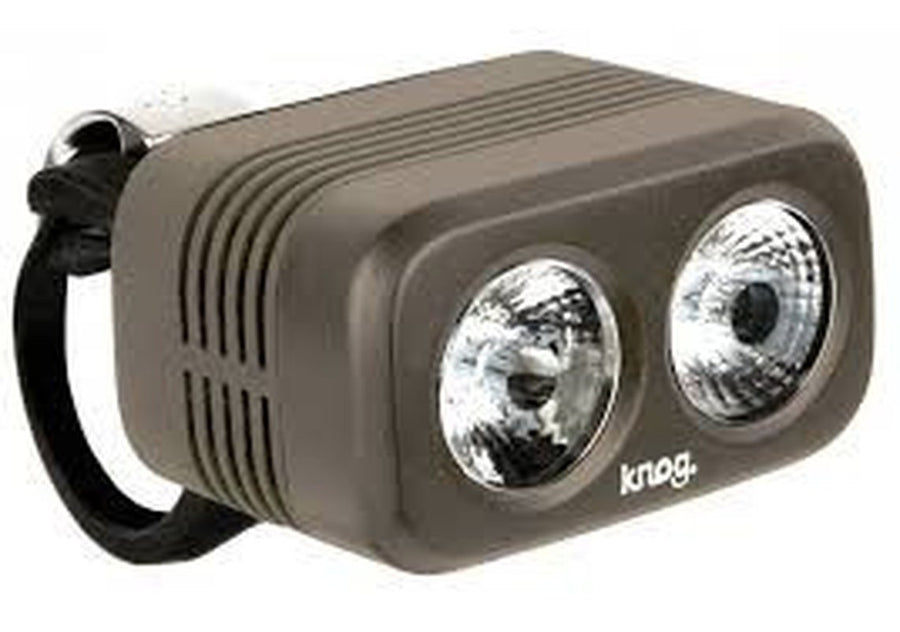 KNOG Blinder Road 400-Bicycle Lights-KNOG-Pewter-Voltaire Cycles of Highlands Ranch Colorado