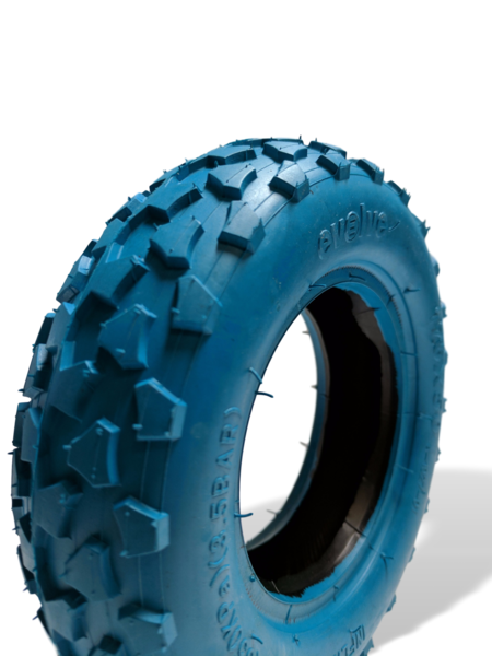 "Evolve 7"" Tire-Electric Skateboard Parts-EVOLVE-DeepSky Blue-Knobby-Voltaire Cycles of Highlands Ranch Colorado"
