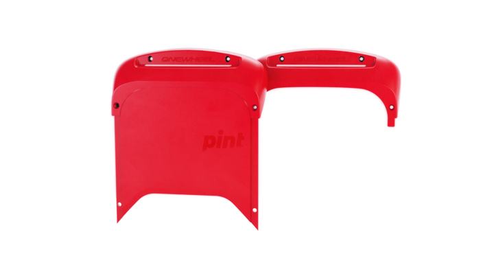 Onewheel Bumpers Pint-Electric Skateboard Parts-Future Motion (Onewheel)-Red-Voltaire Cycles of Highlands Ranch Colorado