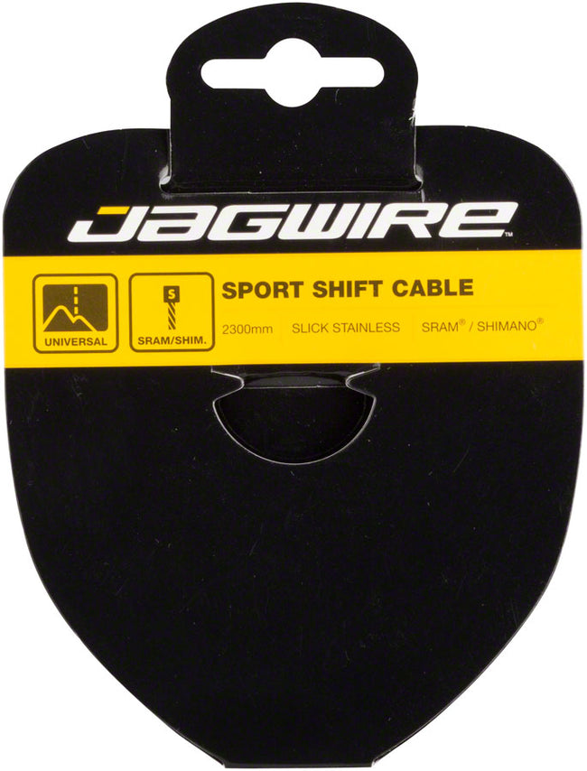 Jagwire Sport Derailleur Cable Slick Stainless 1.1x2300mm Campagnolo-Bicycle Derailleur Components-Jagwire-Voltaire Cycles of Highlands Ranch Colorado