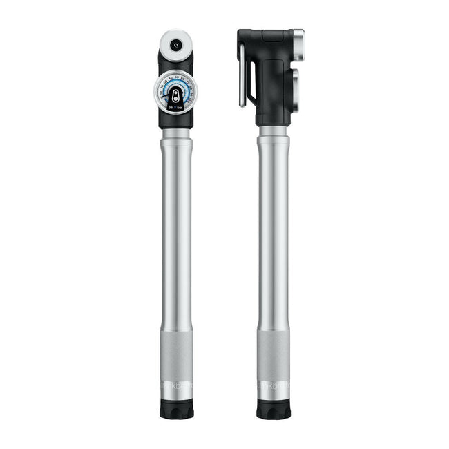 Crankbrothers Sterling SG Short Pump with Gauge-Bicycle Pumps-CrankBrothers-Voltaire Cycles of Highlands Ranch Colorado