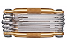 Crankbrothers M-10 Tool for Bicycles-Bicycle Tools-CrankBrothers-Gold-Voltaire Cycles of Highlands Ranch Colorado