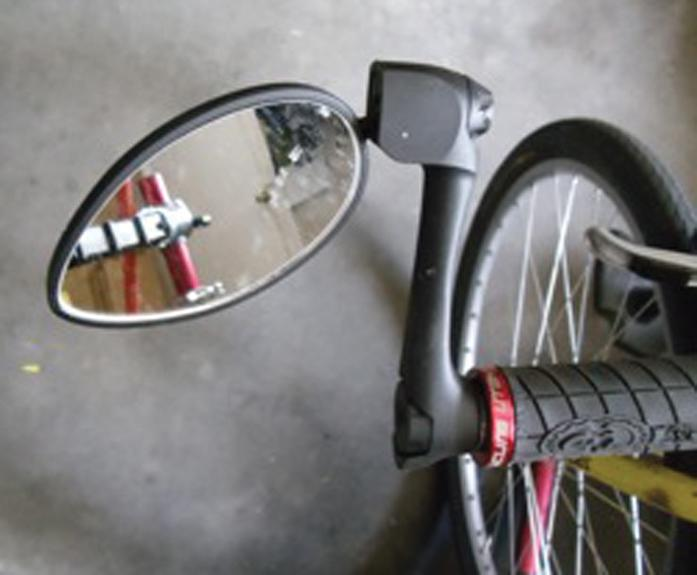 Top 5 Bicycle Mirrors - The Folding Urbie by CycleAware-Bicycle Mirrors-CycleAware-Voltaire Cycles of Highlands Ranch Colorado