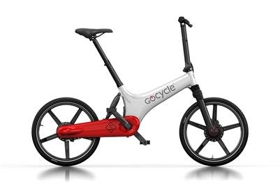 Gocycle GS The All Rounder-Electric Bicycle-Gocycle-White / Red-Voltaire Cycles of Highlands Ranch Colorado