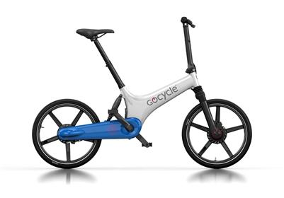 Gocycle GS The All Rounder-Electric Bicycle-Gocycle-White / Blue-Voltaire Cycles of Highlands Ranch Colorado