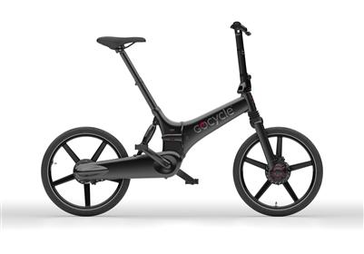 Gocycle GX The Fast Folder-Electric Bicycle-Gocycle-Matt Black-Voltaire Cycles of Highlands Ranch Colorado