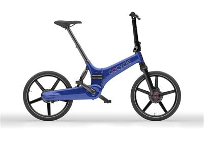 Gocycle GX The Fast Folder-Electric Bicycle-Gocycle-Blue-Voltaire Cycles of Highlands Ranch Colorado