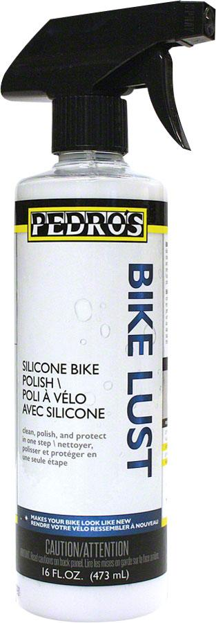 Pedro's Bike Lust Silicone Polish and Cleaner: 16oz/475ml-Lube Grease Sealant-Pedro's-Voltaire Cycles of Highlands Ranch Colorado