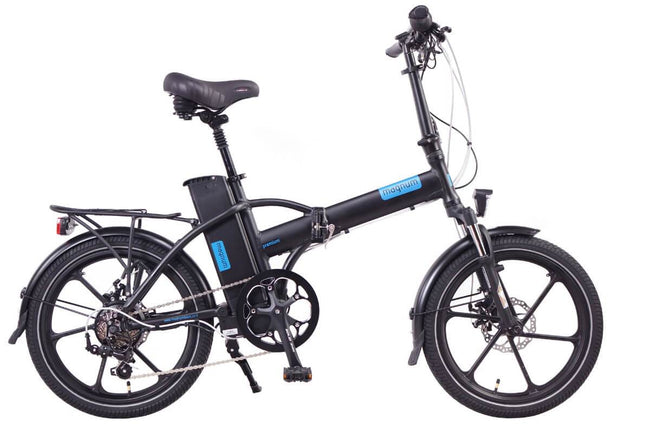 Magnum Premium 48v High Step 28-mph Speed Pedelec Electric Folding Bike-Electric Bicycle-Magnum-Voltaire Cycles of Highlands Ranch Colorado