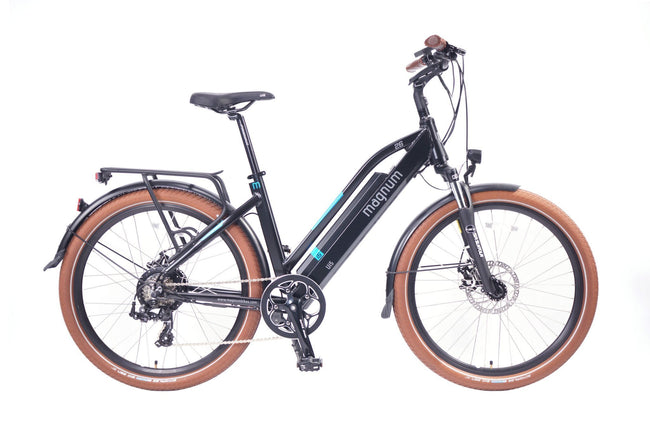 Magnum Ui6 Electric Bike-Electric Bicycle-Magnum-Matt Black-Voltaire Cycles of Highlands Ranch Colorado