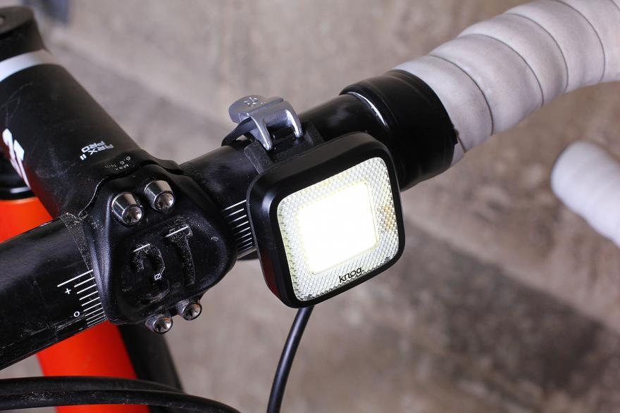 KNOG Mr. Chips Front Bicycle Light-Bicycle Lights-KNOG-Voltaire Cycles of Highlands Ranch Colorado