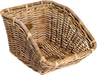Nantucket Tuckernuck Basket, Tremont Rear Cargo: Natural-Bicycle Baskets-Nantucket Bike Basket Co-Voltaire Cycles of Highlands Ranch Colorado