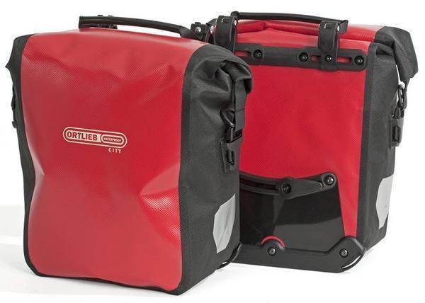 Ortlieb Back-Roller City: Pair Bicycle Panniers-Bicycle Panniers-Ortlieb-Voltaire Cycles of Highlands Ranch Colorado