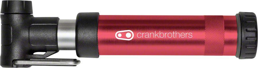 Crankbrothers Gem Short Air Pump-Bicycle Pumps-CrankBrothers-Red-Voltaire Cycles of Highlands Ranch Colorado