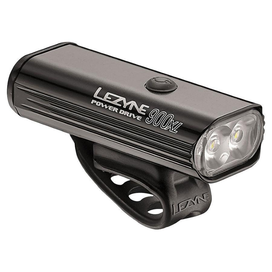 Lezyne Power Drive 900XL Bicycle Light-Bicycle Lights-Lezyne-Black-Voltaire Cycles of Highlands Ranch Colorado