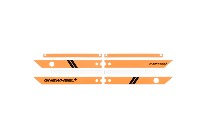 Onewheel Rail Guards +-Electric Skateboard Parts-Onewheel-Fluorescent Orange-Voltaire Cycles of Highlands Ranch Colorado