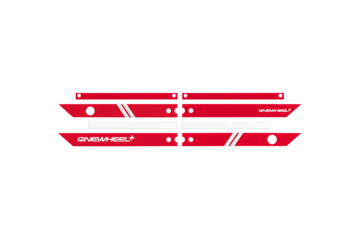 Onewheel Rail Guards +-Electric Skateboard Parts-Onewheel-Red-Voltaire Cycles of Highlands Ranch Colorado