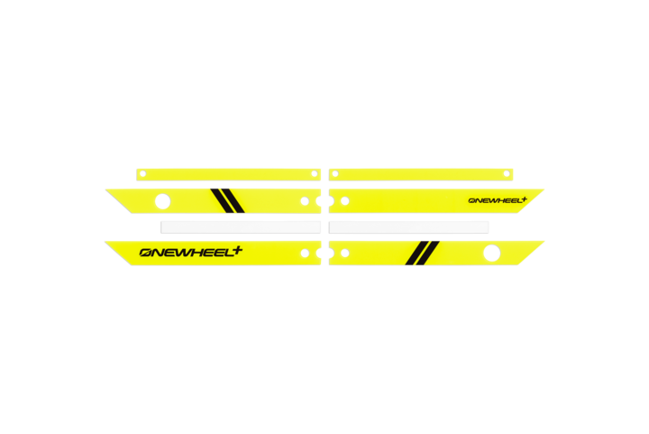 Onewheel Rail Guards +-Electric Skateboard Parts-Onewheel-Fluorescent Yellow-Voltaire Cycles of Highlands Ranch Colorado