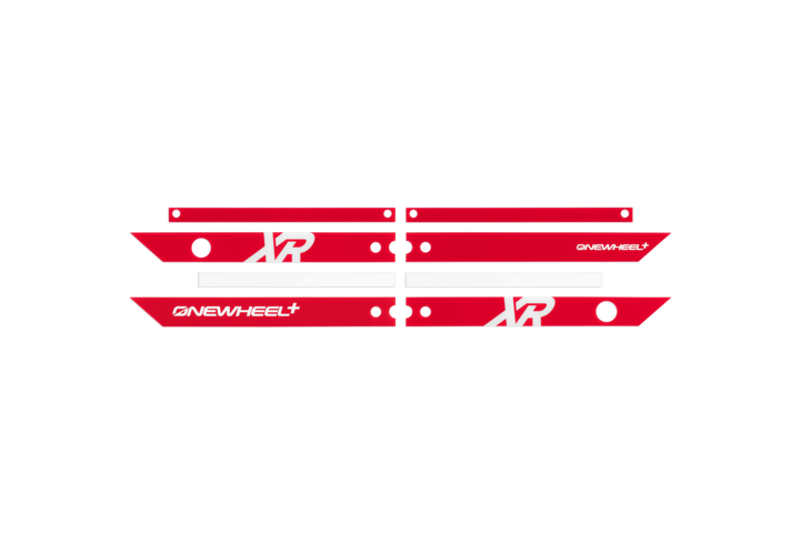 Onewheel Rail Guards XR-Electric Skateboard Parts-Onewheel-Red-Voltaire Cycles of Highlands Ranch Colorado