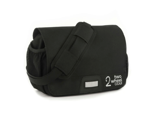 Mini Messenger Handlebar Bag (KLICKfix)-Bicycle Handlebar Bags-Two Wheel Gear-Voltaire Cycles of Highlands Ranch Colorado