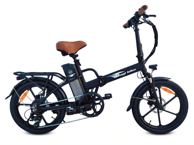 Bagi Bike B20 Street-Electric Bicycle-Bagi Bike-Black-Voltaire Cycles of Highlands Ranch Colorado